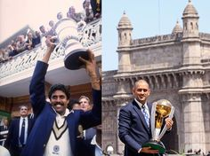 Its one year today since MS Dhoni's men won the 2011 World Cup. H Natarajan goes back in time and finds remarkable similarities between India's World Cup triumphs in 2011 and 1983.