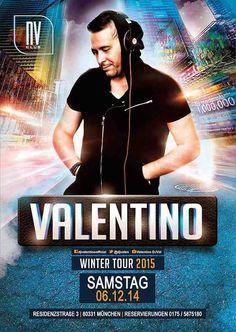 Valentino aus Griechenland am 6.12.2014 in München Deutschland