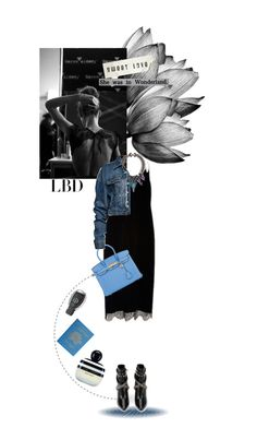 """LBD"" by ozgeelfaba ❤ liked on Polyvore featuring Erickson Beamon, Yves Saint Laurent, Hermès, Thierry Mugler, Mercedes-Benz, Dot & Bo and Marc Jacobs"