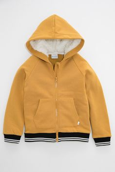 Pumpkin Patch Fleece Hoodie with Striped Rib at EziBuy New Zealand. Buy women's, men's and kids fashion online. Customer Number, Kids Fashion, Womens Fashion, Online Clothing Stores, Fleece Hoodie, Hooded Jacket, Patches, June, Hoodies