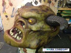 Ogre head made for LARP