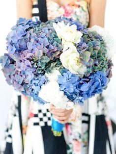 Hydrangeas Love #flowers #Hydrangeas #blue #fresh