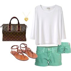 summer casual, created by emilysac.polyvore...