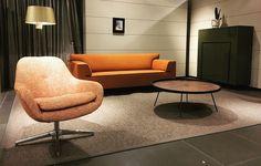 Pode Sofa Edit (Jet Dircks, 2008) and Pode Chair Sparkle (Thijs Smeets, 2014)