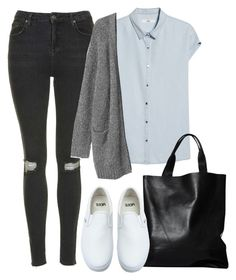 """Untitled #605"" by rachelniccolai ❤ liked on Polyvore featuring MANGO, Topshop, London Edit, Monki and Vans"