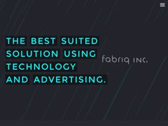 fabriq Inc. | 株式会社fabriq « WebDesign http://fabriq.co.jp/