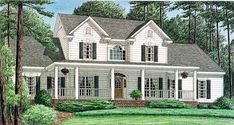 Country   House Plan 67122
