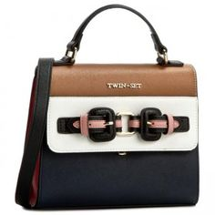 Torebka TWIN-SET - Tracolla Fibbie AS67LC Multicol 00355