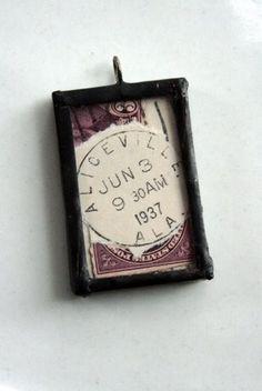 Pendant, Postmark June 3, 1937