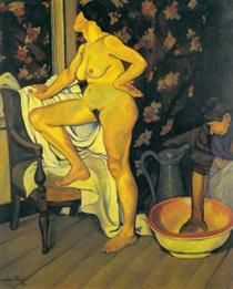 Femme a la Toilette - Suzanne Valadon