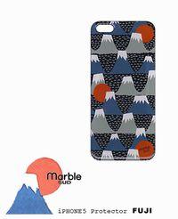 (メール便OK) marble sud マーブルシュッド  オリジナル iPhone5/5s プロテクター FUJI