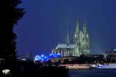 The Cologne Cathedral in Germany. This image looks just like the view from my hotel window,  Construction began in 1248! And took over 6 hundred years to complete!