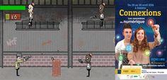 J-5 New-Riot City Mayhem (jeu de tir en scrolling latéral sur GameMaker) #Connexions #Amiens