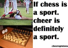 . next time someone tells me cheer  's not a  sport -_-