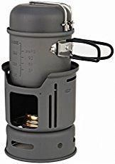 Cool knight Alocs portable Alcohol Stove 12 person kitchenware set Outdoor Hiking Camping picnic -- You can find more details by visiting the image link. Best Camping Stove, Best Camping Gear, Backpacking Gear, Camping World, Camping And Hiking, Camping With Kids, Camping Kitchen, Camping Cooking, Camping Ideas