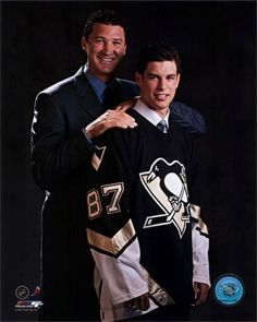 The Great One and Sid the Kid - what a great family portrait.
