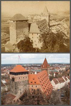 Nurnberg Stadtbild Im Wandel Europa Lutero Historia