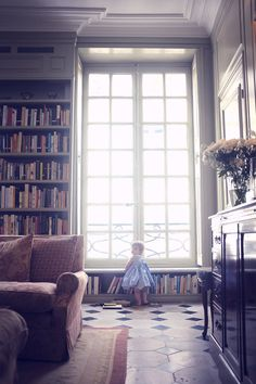 Pied-à-Terre, 6th Arrondissement | My Small Hours Lovely Apartments, Paris Apartments, Paris Living Rooms, Glass French Doors, Arrondissement, Big Windows, Amazing Spaces, French Decor, Home Decor Styles