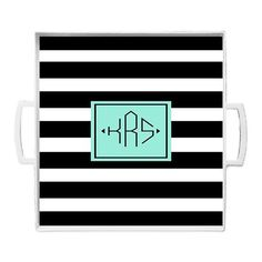 Trendy Trays Gifts for the Home  Monogrammed Serving by stylinstix, $55.00