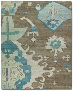 Tufenkian Carpets: VOLOS WINTER LAKE - AAF.22/251