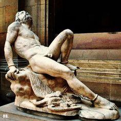 Prometheus. 1827. James Pradier. Swiss. 1792-1852. marble.