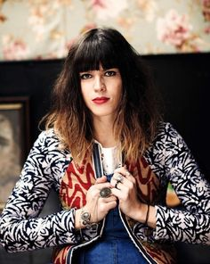 Melody Prochet, lead singer and songwriter of the band Melody's Echo Chamber.