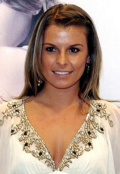 Coleen Rooney ( Abby) Love her hair and her natural make up style.