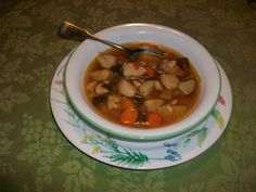 Coconut Chicken Mushroom Soup Recipe & A Link Party :http://elisecohenho.com/coconut-chicken-mushroom-soup/