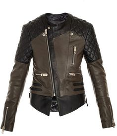 Shop for Quilted shoulder biker jacket by Balenciaga at ShopStyle. Now for Sold Out.