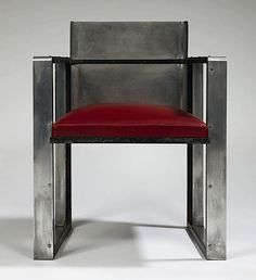 Charlotte Alix and Louis Sognot, Prototype Armchair for the UCLAF Boardroom in Paris, 1930.