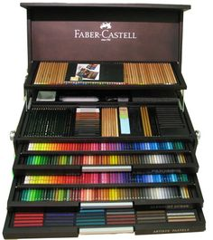 The Faber Castell Jubilee Cabinet -- I don't think Little Boy would know where to begin!  ^_^