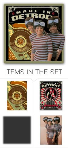"""""""Made In Detroit"""" by kathy-martenson-sanko ❤ liked on Polyvore featuring art"""