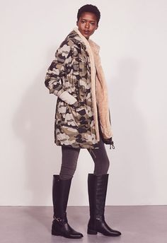 Winter Is Coming, Fur Coat, Winter Jackets, Lace Up, Handbags, Boots, Graphics, Clothes, Women