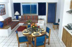 Costa de Oro, Mazatlan - Junior Suite.  The blue you see out the window is the ocean!
