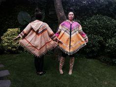 New Poncho collection by Grétel Crevette <3 WInter 2014 #design #fashion #bohochic