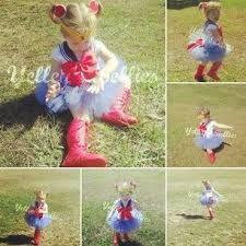 Resultado de imagen para disfraz de sailor moon niña