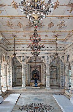 Beautiful Places...Palace, Shivpuri, Madhya Pradesh, India, photo by Thomas, madamasu via Flickr.