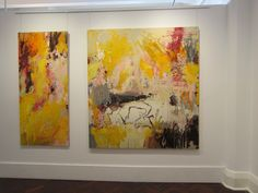 TIME RECALLED Flinders Lane Gallery, Melbourne by Jo Davenport Abstract Expressionism, Abstract Art, Abstract Paintings, Contemporary Decor, Modern Art, Yellow Painting, Mixed Media Art, Collage Art, Original Art