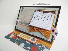 Scor-pal: Easel Calendar Display by Virginia Nebel