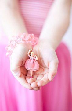 Sweet pink ballerina