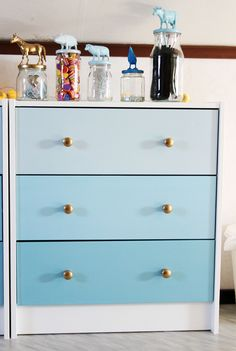 21 DIY Hacks to Upgrade the Look of an IKEA Rast Dresser
