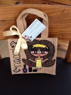 Naomi Small Jute Bags, Burlap, Reusable Tote Bags, Hessian Fabric, Jute, Canvas
