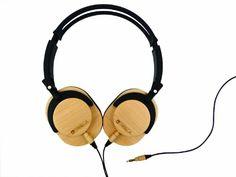 $64.99 #Tribeca #Genuine #Wood Performance #Headphones for #Kindle #Fire