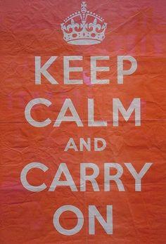 La verdadera historia de «Keep Calm and Carry On», el póster que nunca se utilizó