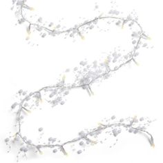 LED Beaded Garland - cute for all year round.