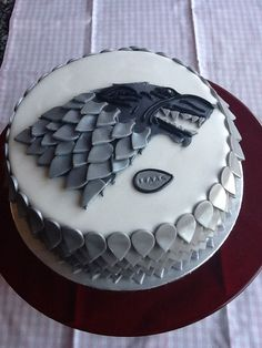 Tarta Juego de Tronos para cumpleaños. - #cumplea #cumpleaños #de #juego #Para #tarta #tronos