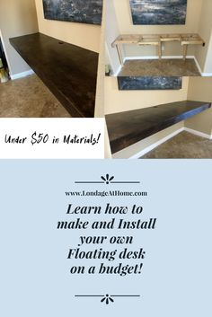 Building A Computer 216946907034137277 - Check out this awesome how-to for building a desk into an alcove or closet! Source by LondageAtHome Home Office Closet, Diy Office Desk, Closet Desk, Build A Closet, Tiny Office, Home Office Design, Home Office Decor, Design Desk, Library Design