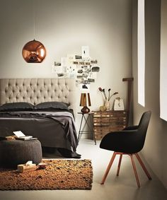 23 Inspiring Bedroom Wall Paint Ideas Photo: Bedroom Walls Painted With Plascon Cashmere Plascon Paint Colours, Bedroom Wall, Bedroom Decor, Men Bedroom, Warm Bedroom, Copper Bedroom, Cool Apartments, Living Room Remodel, Beautiful Bedrooms