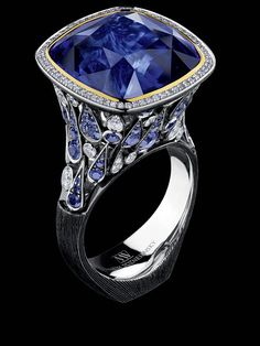 Jewellery Theatre - Art-Stones Collection - Ring w/ Sapphires
