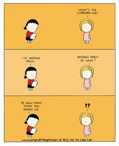 Today on Angry Little Girls - Comics by Lela Lee Haha Funny, Funny Memes, Hilarious, Lol, Asian Problems, Angry Little Girls, Korean American, Non Sequitur, Calvin And Hobbes